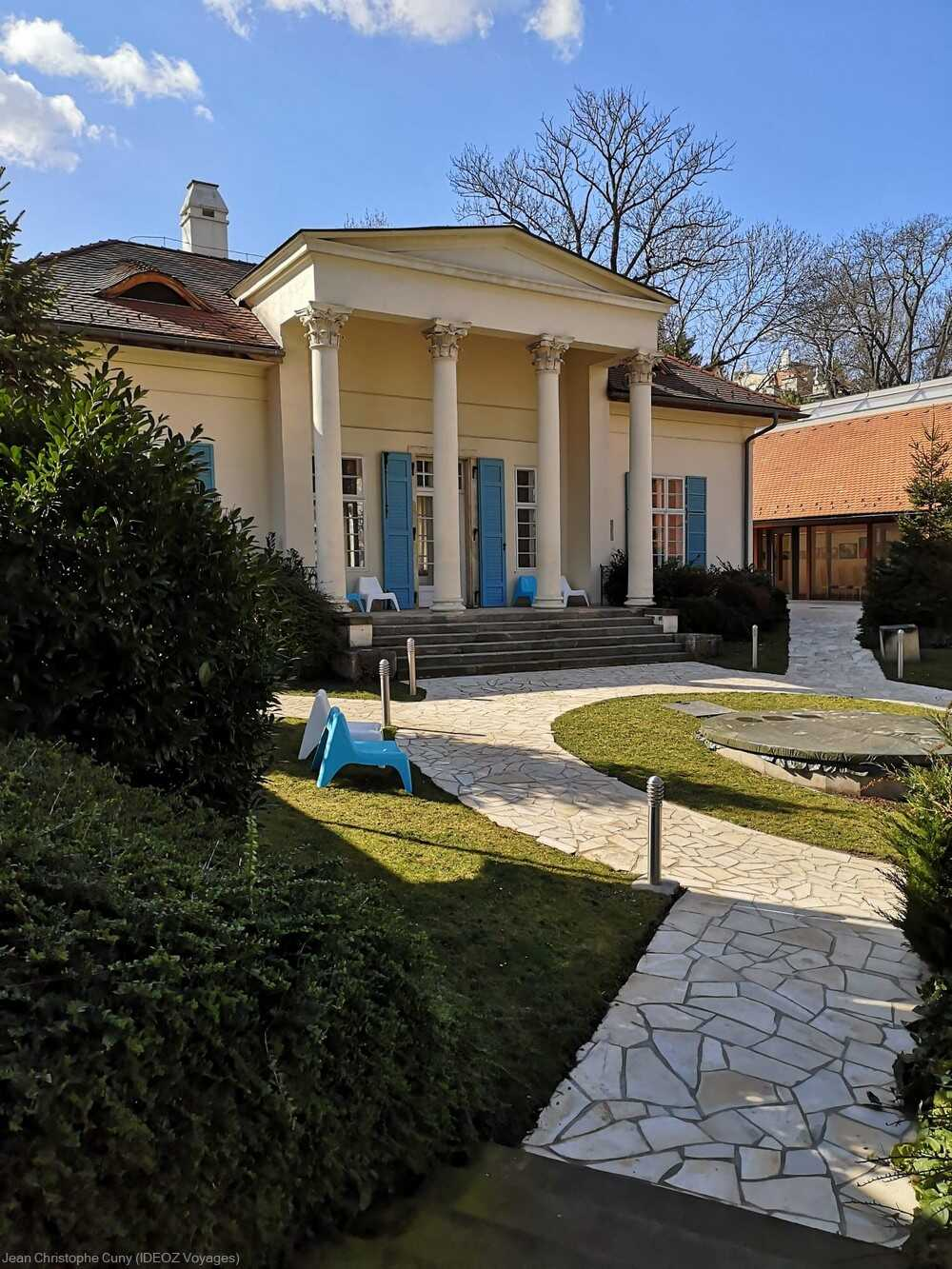 Budapest villa néoclassique Barabas