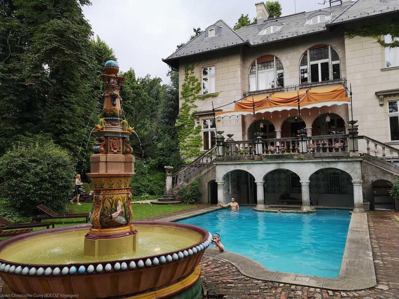 Villa Art Nouveau à Budapest sur la colline des souabes