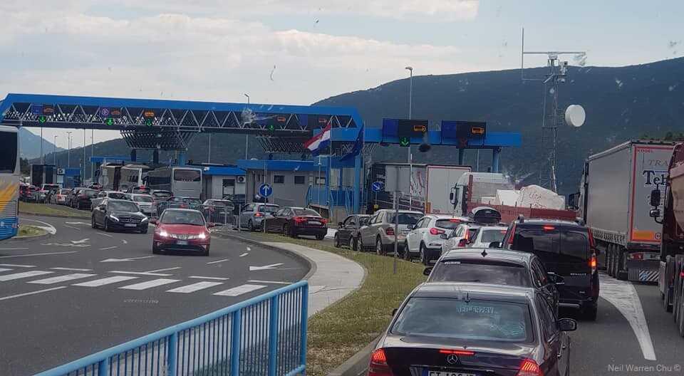 frontieres entre croatie et slovénie