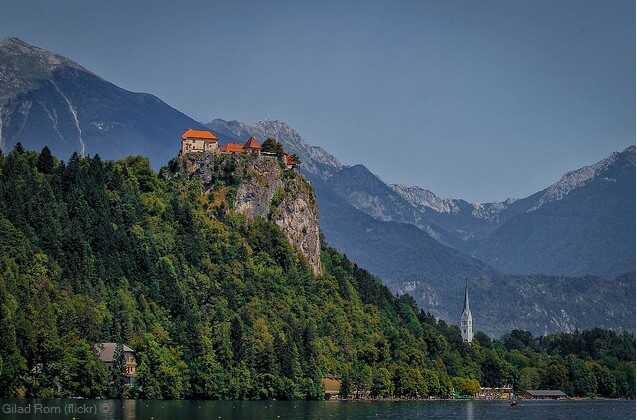 chateau de bled en slovénie