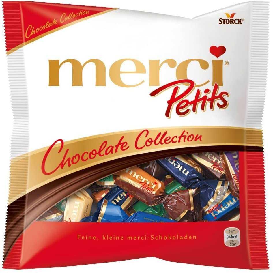 chocolats merci en sachet