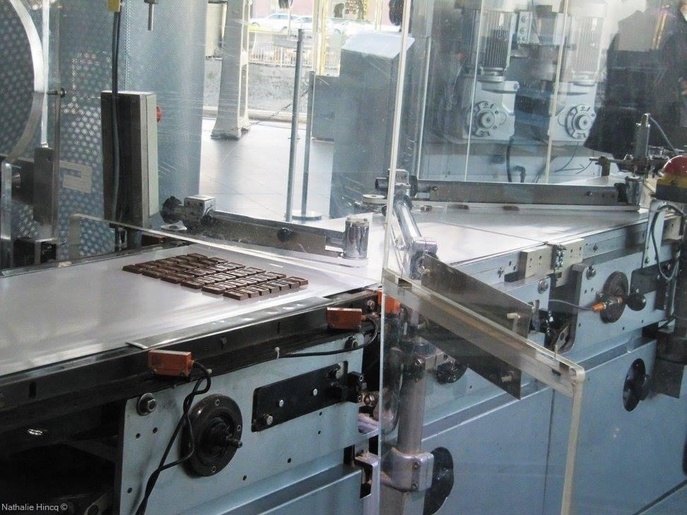 machine d'usine pour fabriquer du chocolat schokolademuseum koln