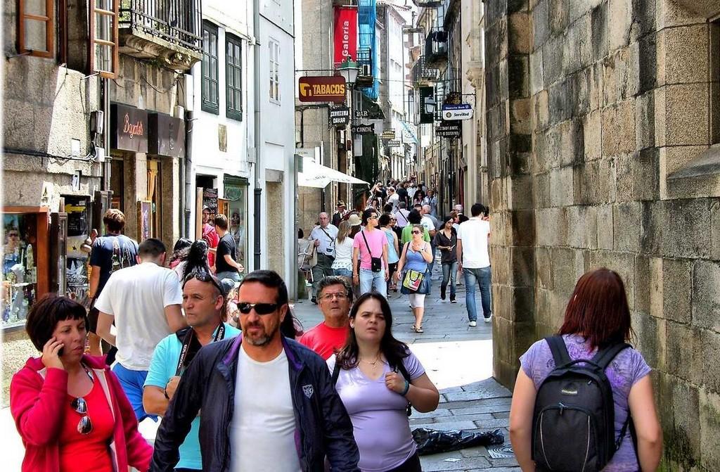 rue piétonne en espagne