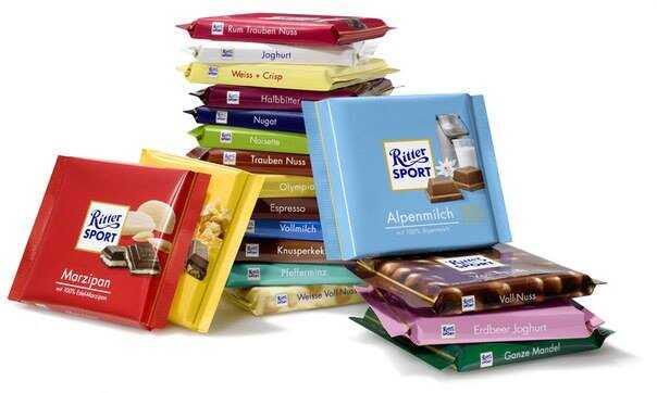 tablettes de chocolat ritter sport