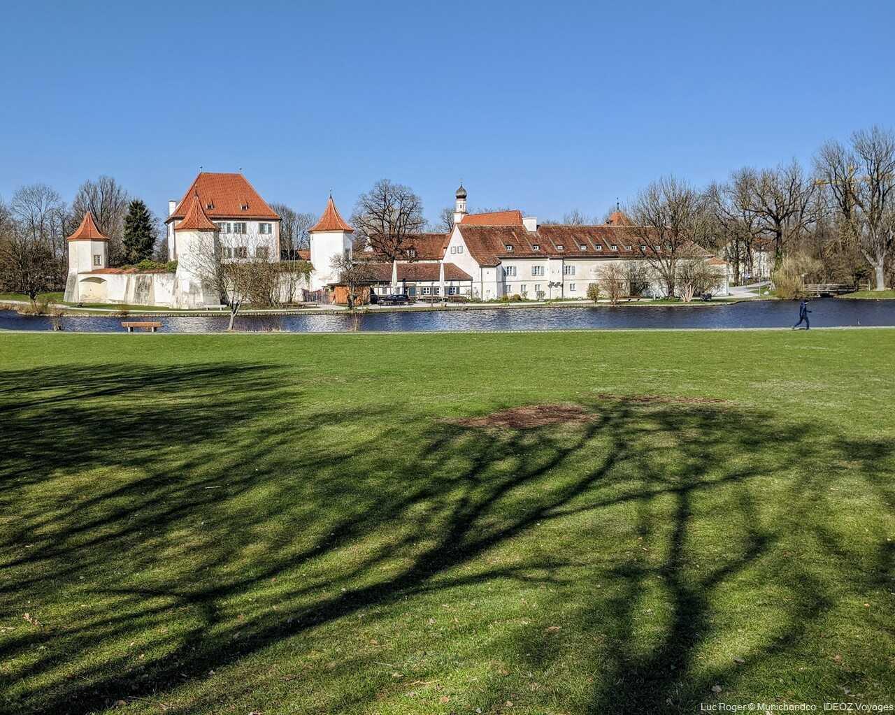blutenburg chateau de bavière près de munich