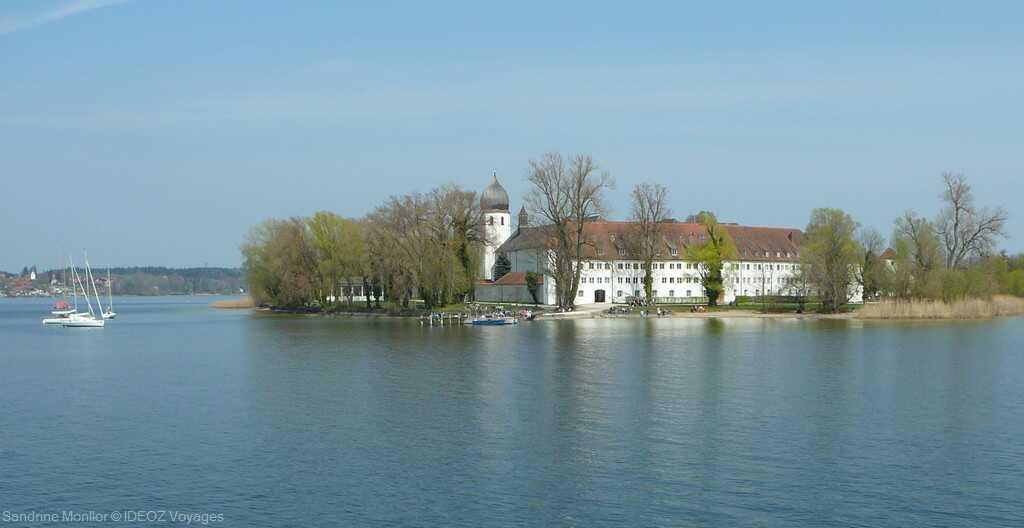 fraueninsel iles aux femmes et monastère