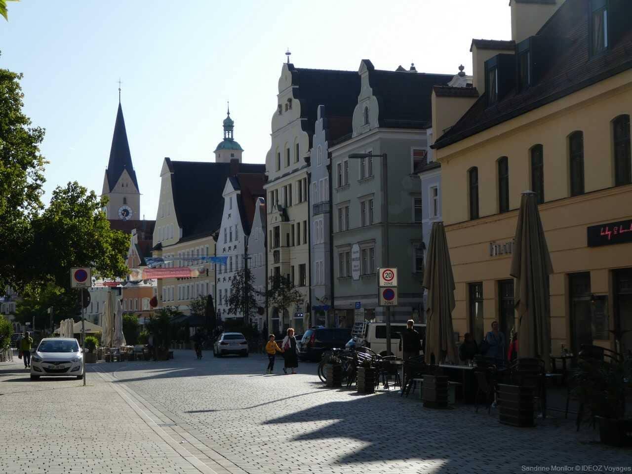 centre ville historique à Ingolstadt