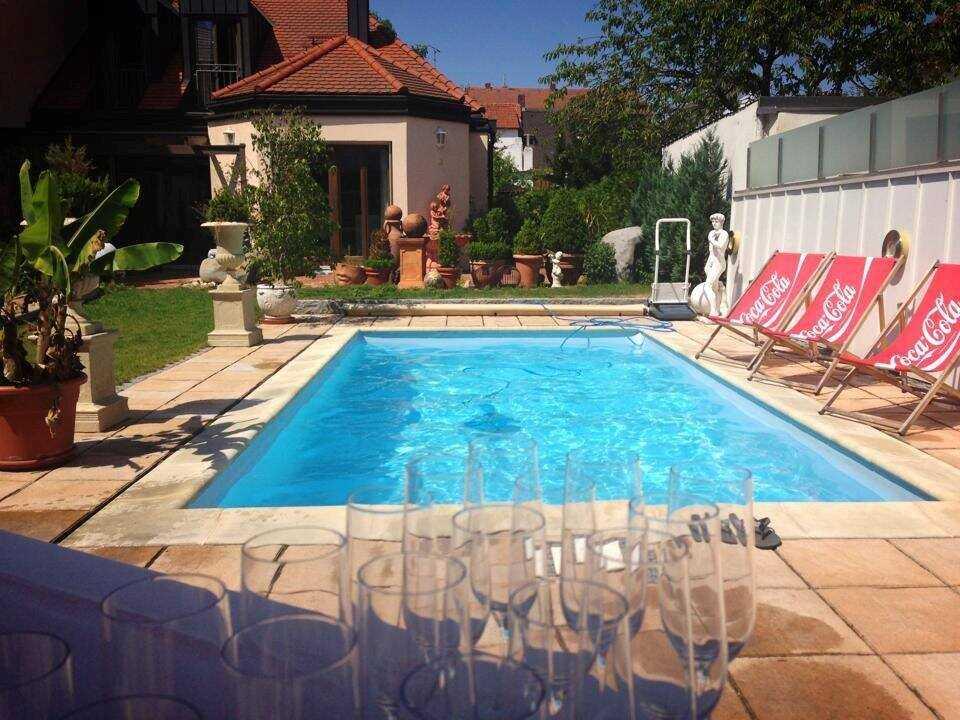 Ingolstadt hotel domizil piscine extérieure