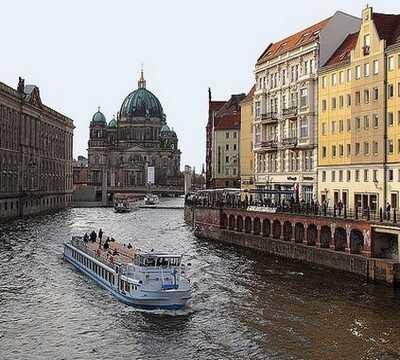 berlin croisière sur la rivière spree