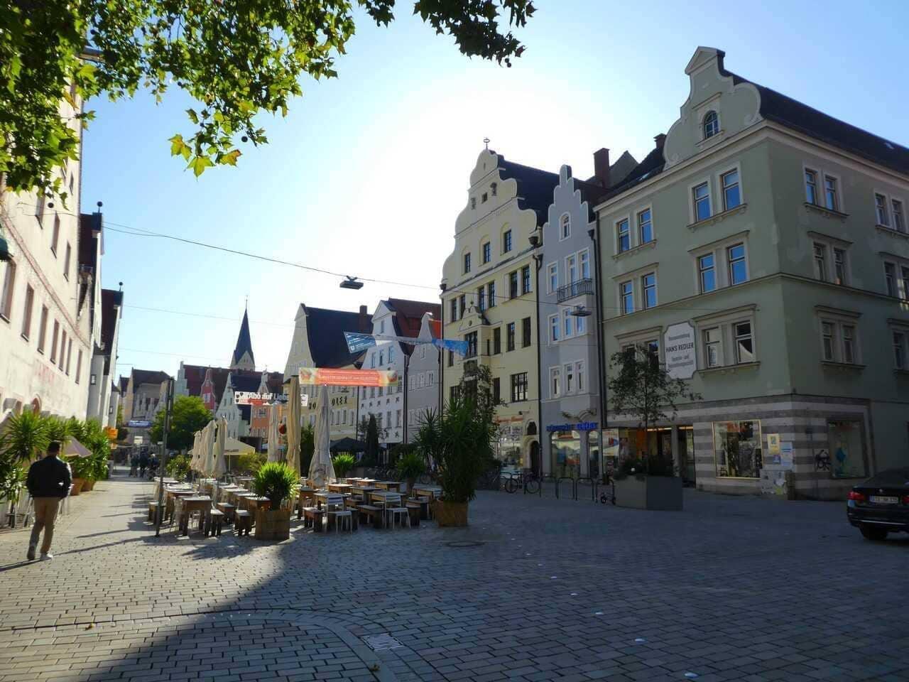 ingolstadt rue principale du centre historique