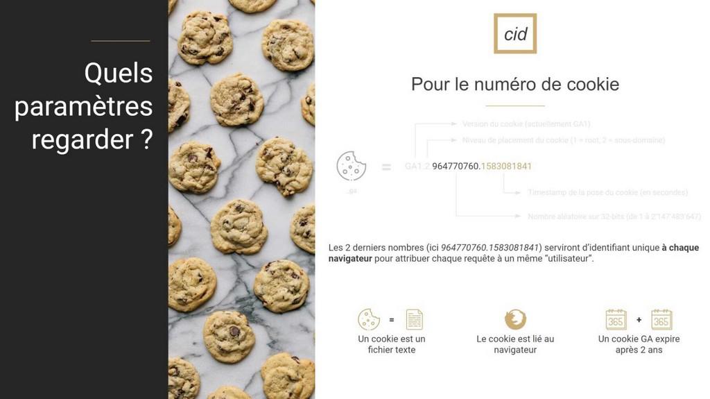 paramètres des cookies sur google analytics