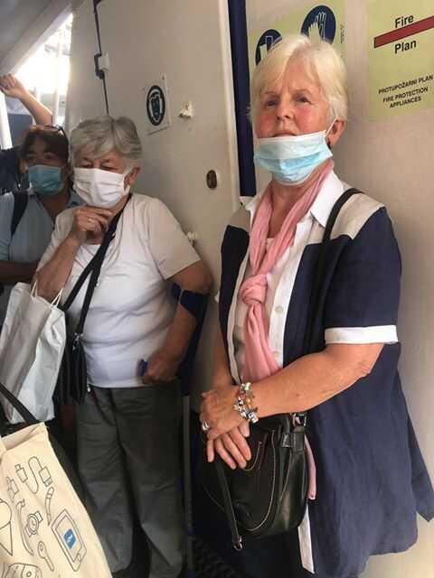 port du masque obligatoire en croatie dans les ferries