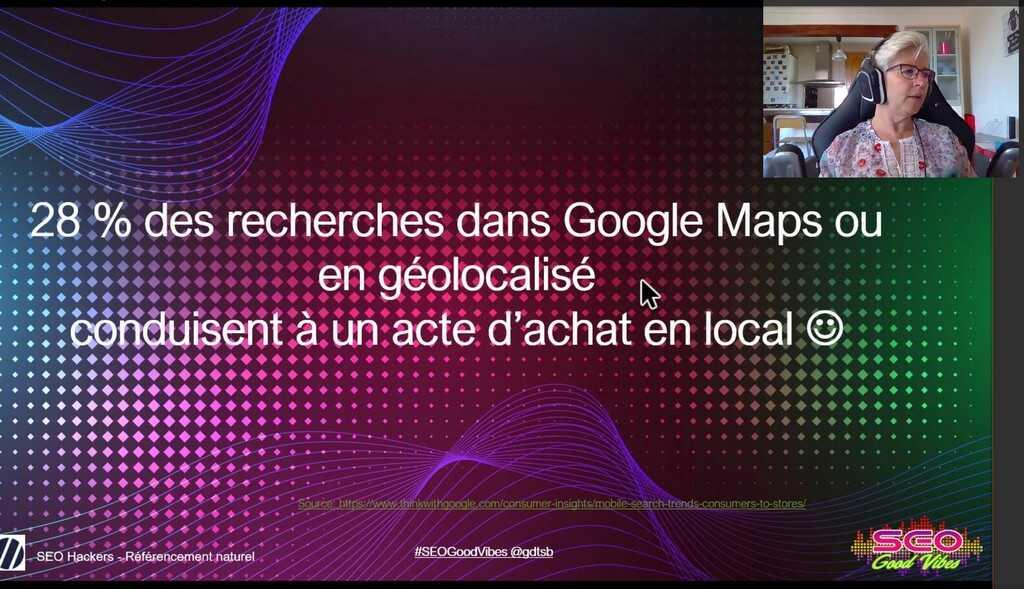 recherche sur google maps et acte d'achat