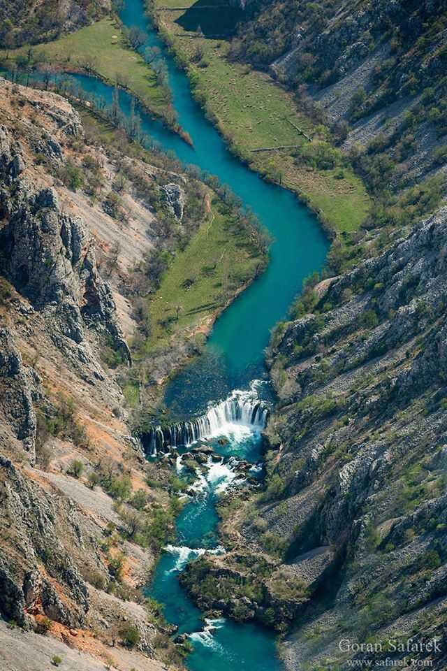 slapovi zrmanje chutes de la riviere zrmanja