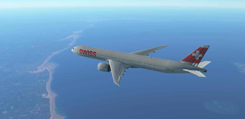 vol swizz air