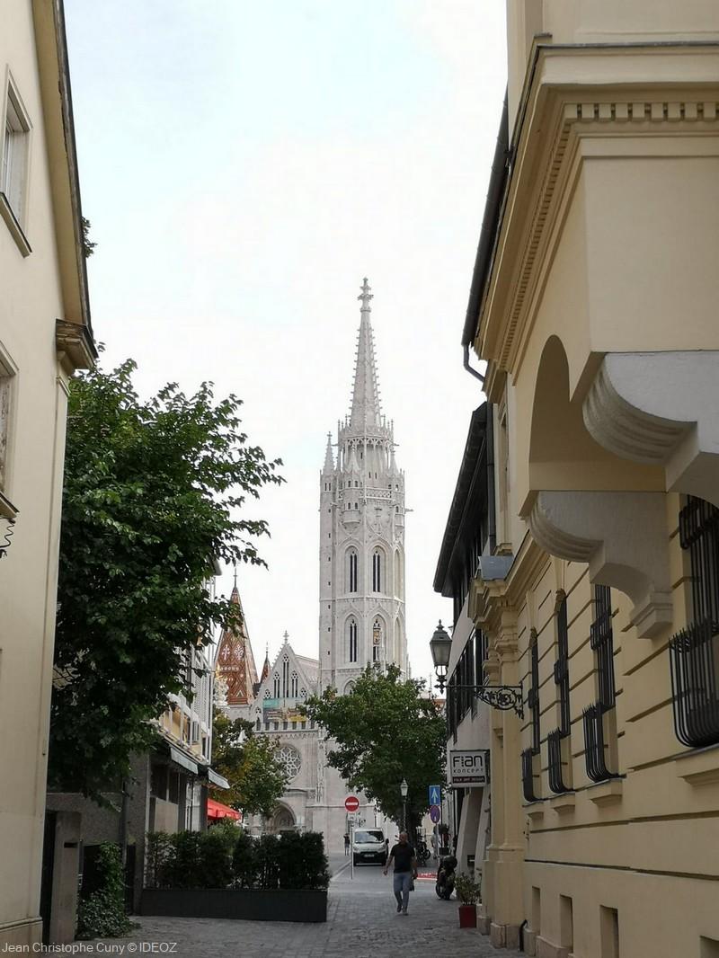 église saint Mathias à Budapest