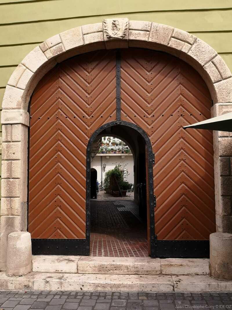 Budai Várnegyed cour privée dans le quartier de Buda
