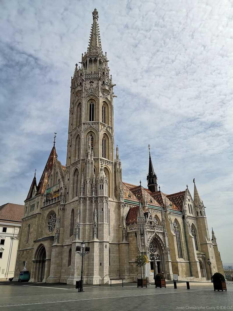Budapest église saint mathias à Buda