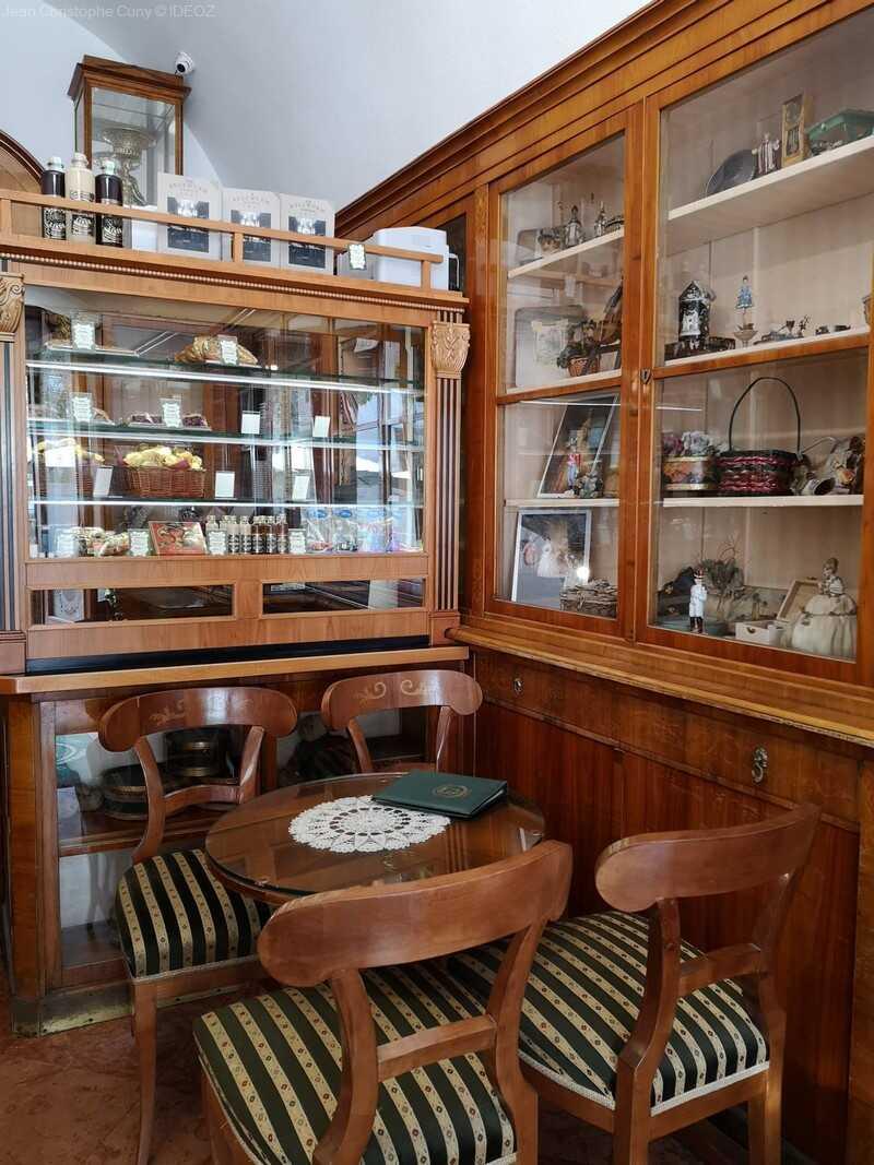 budapest magnifique salon de thé Ruzswurm