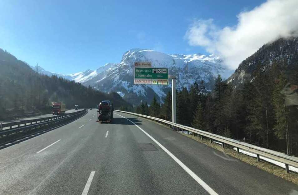 autobahn osterreich autoroute en autriche