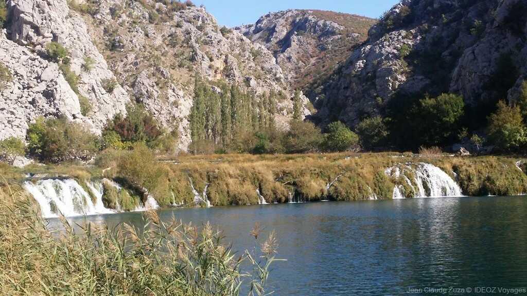 chutes de la rivière krupa
