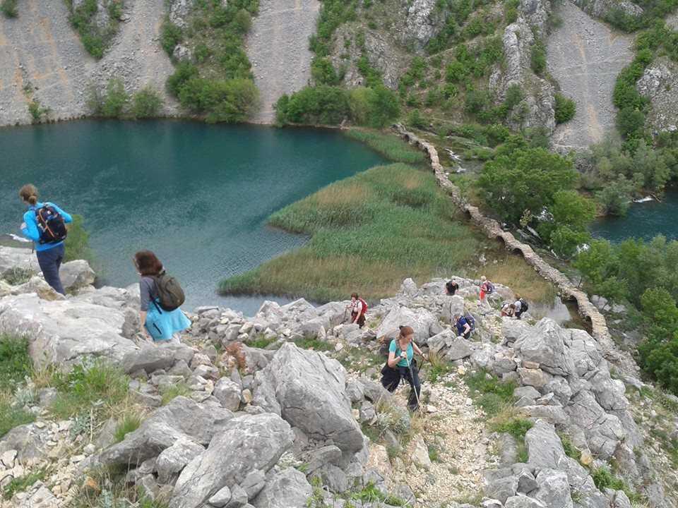 Randonnée dans le canyon de la rivière Krupa ; balade et baignade dépaysante 1