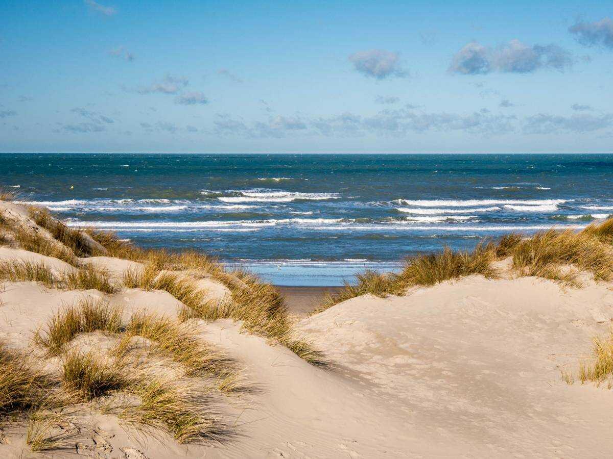 bray dunes plage sur la côte d'opale