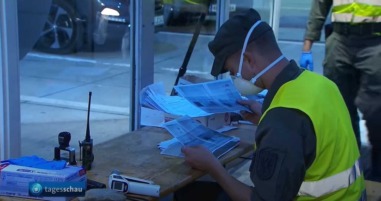 contrôle des voyageurs aux frontières en Autriche covid 19