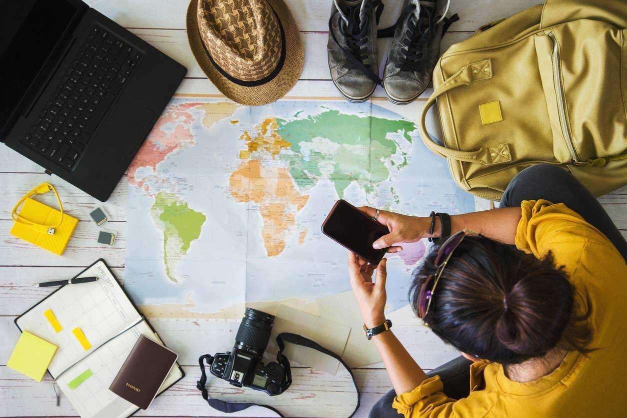 équipements de nouvelle technologie pour voyager en nomade vacances high tch