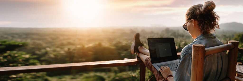 vacances connectées nomadisme en voyage