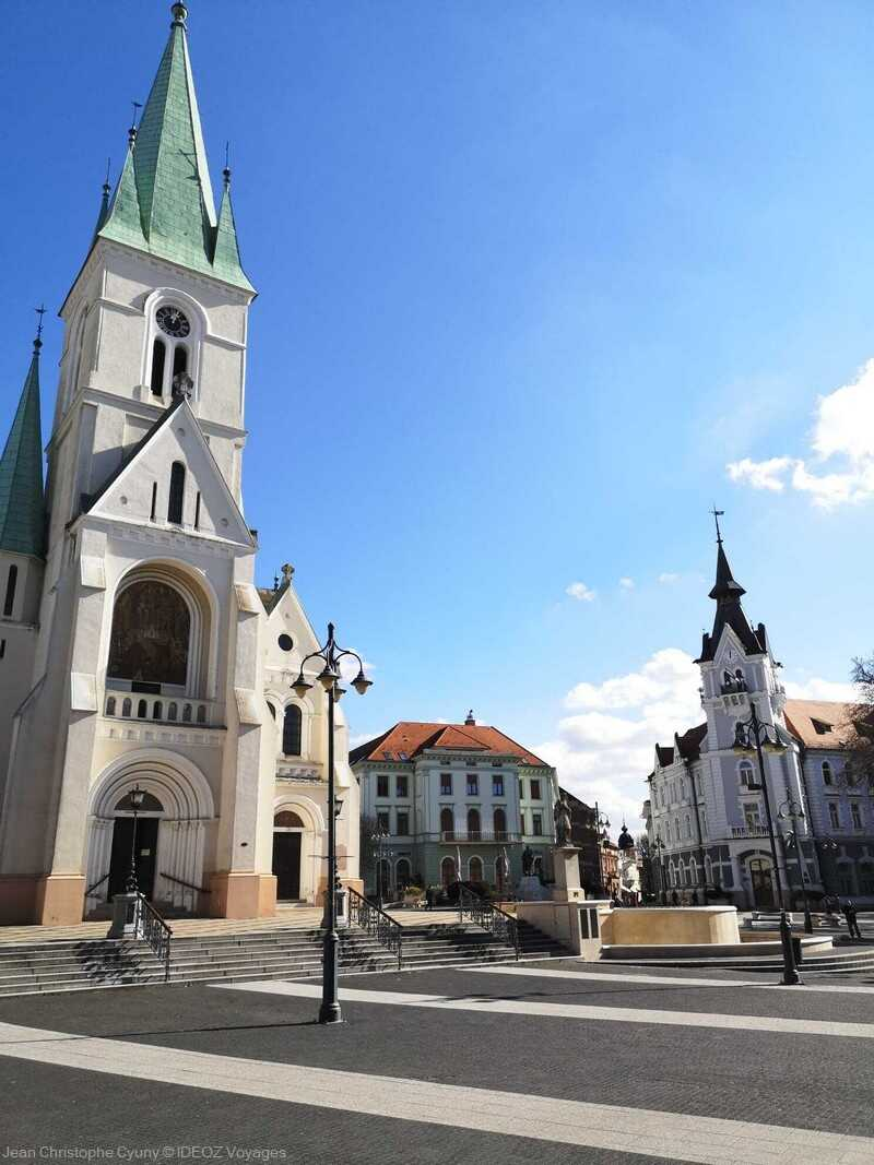 kaposvar centre historique et église