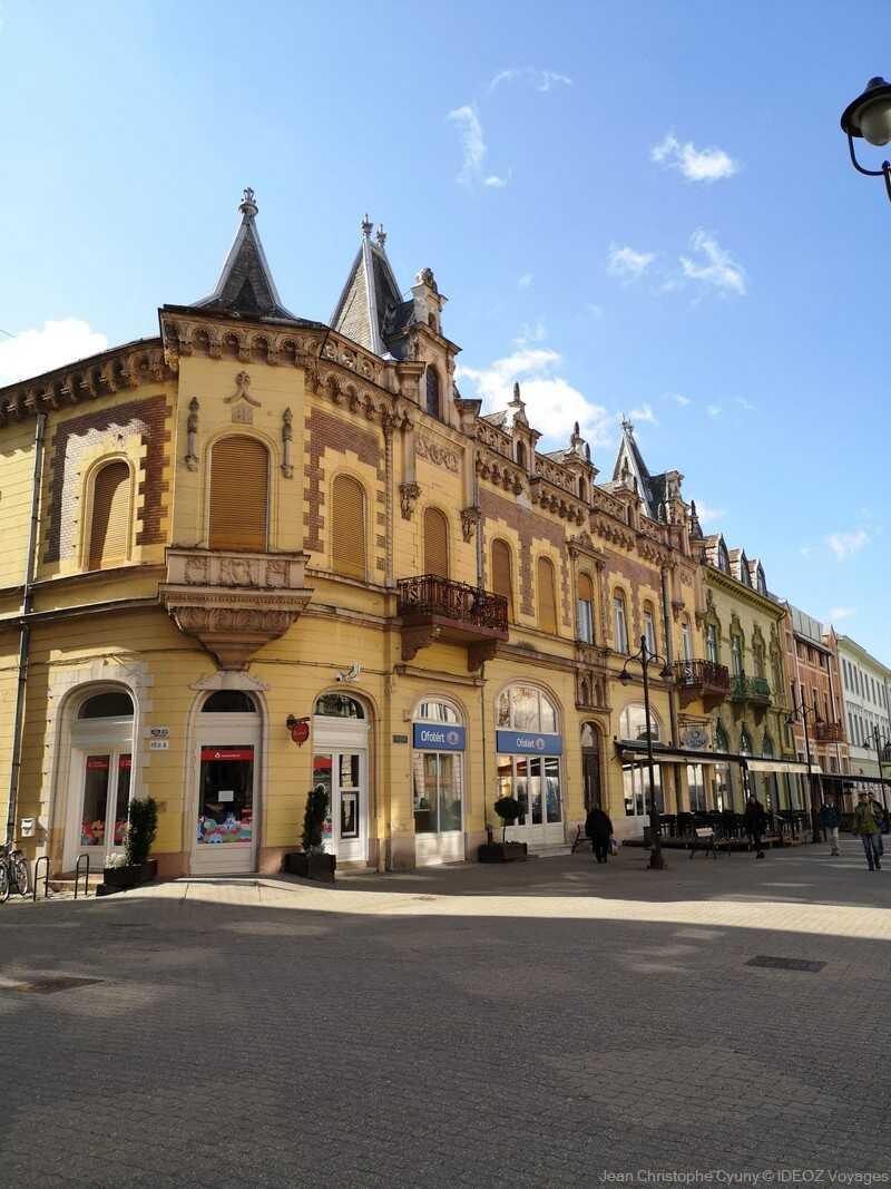 Kaposvar rue du Centre historique