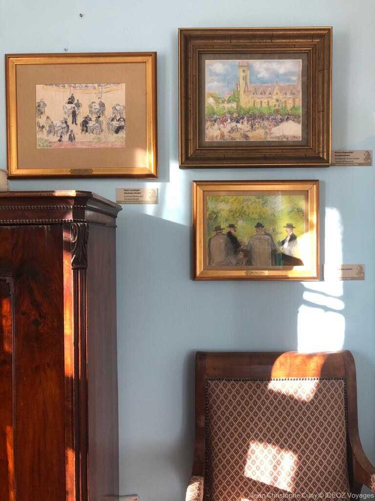 kaposvar villa rippl ronai tableaux et mobilier