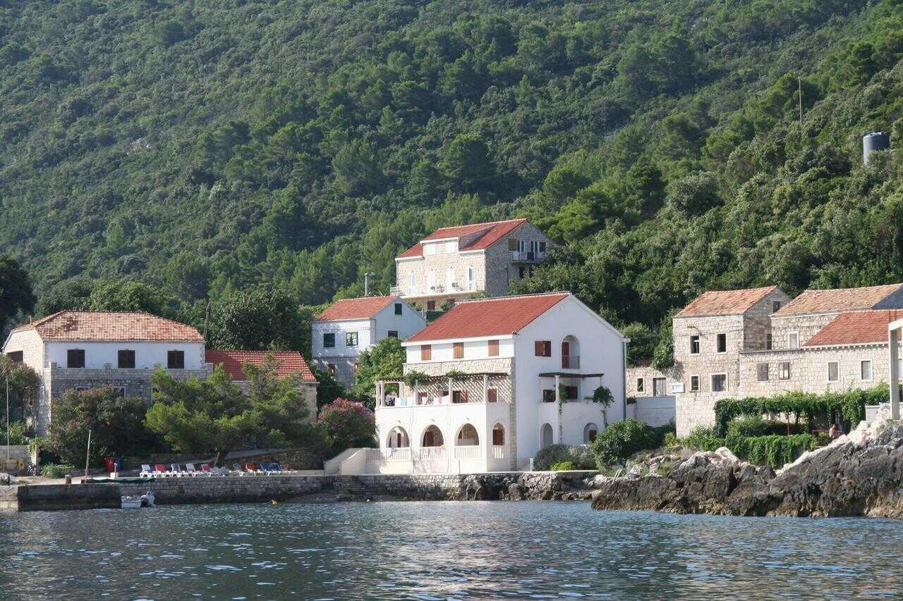 Maison de la famille Cumbelic à Kozarica sur l'île de Mljet