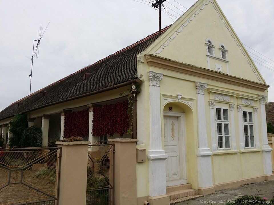 Kopacevo maison traditionnelle de slavonie