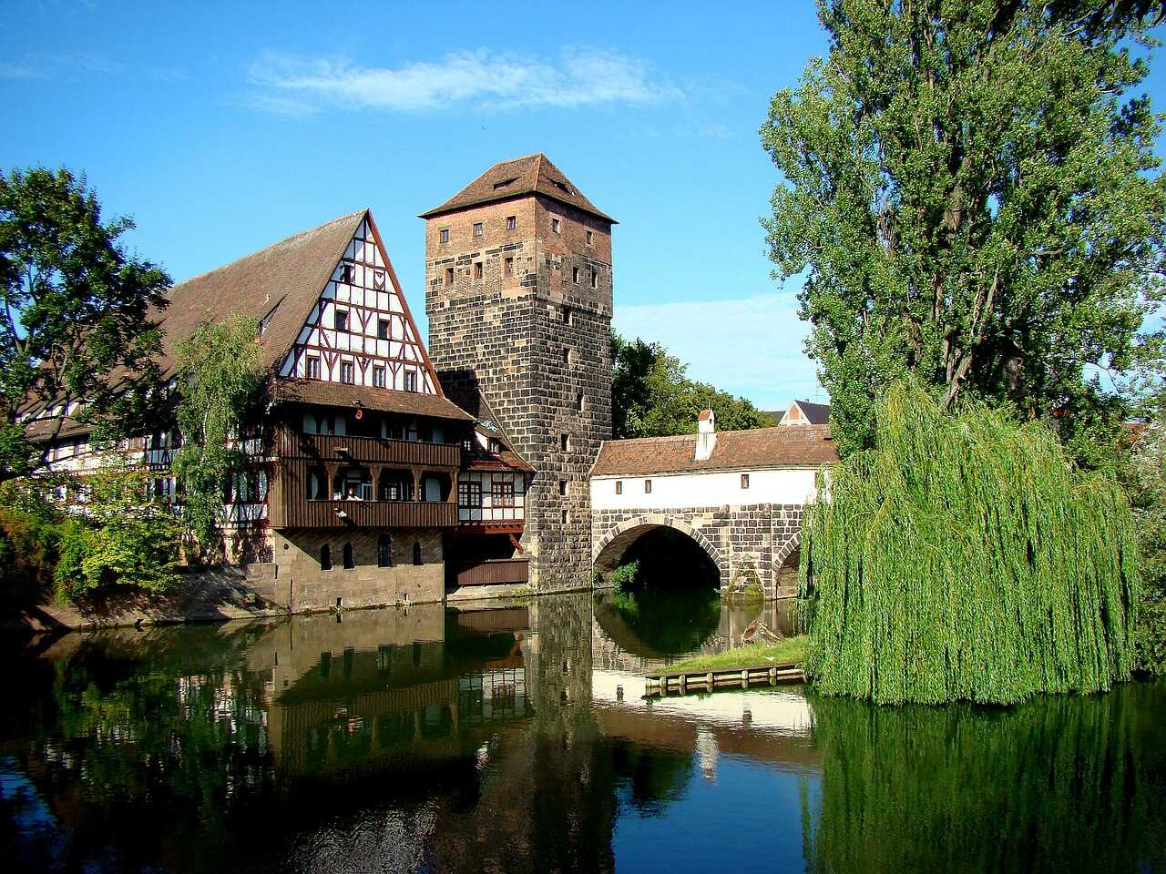 Nuremberg vieille ville historique