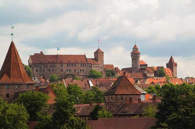Nurnberg château impérial de Nuremberg