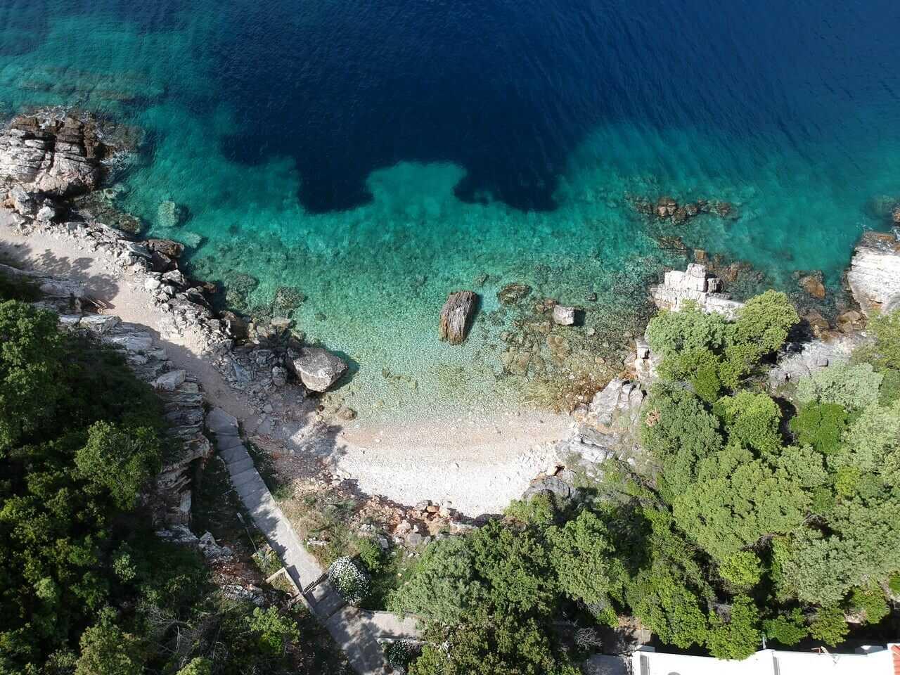 Merveilleux séjour sur l'île de Mljet chez Blazenka Cumbelic à Kozarica 3
