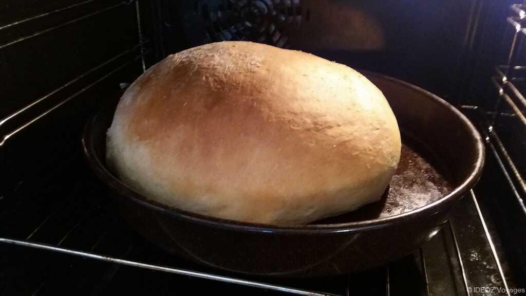 cuisson du pain croate
