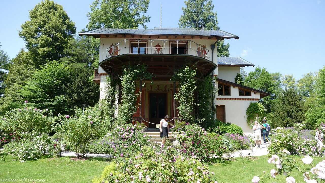 maison de l'ile aux roses de starnberger see