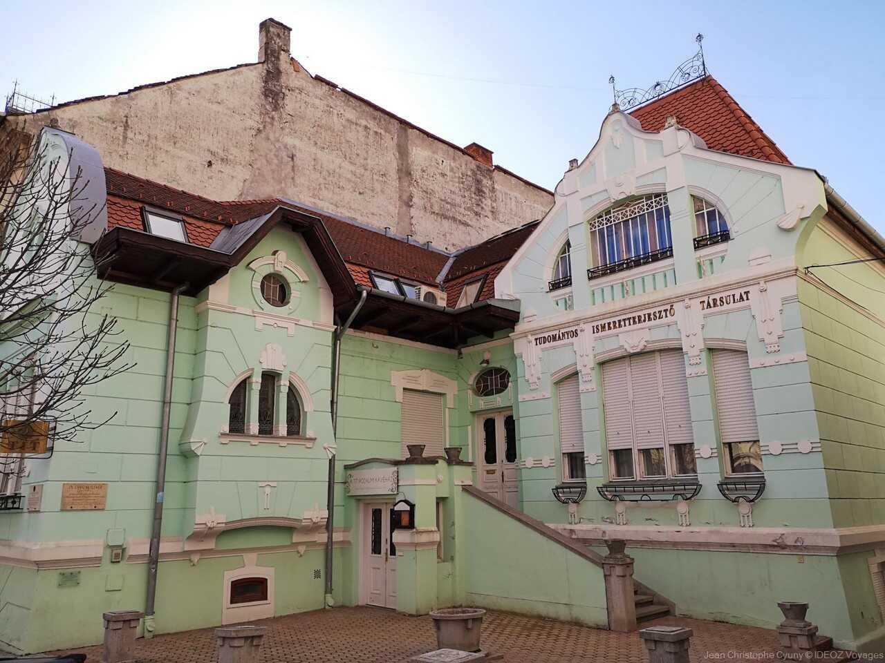 villa art nouveau Kaposvar