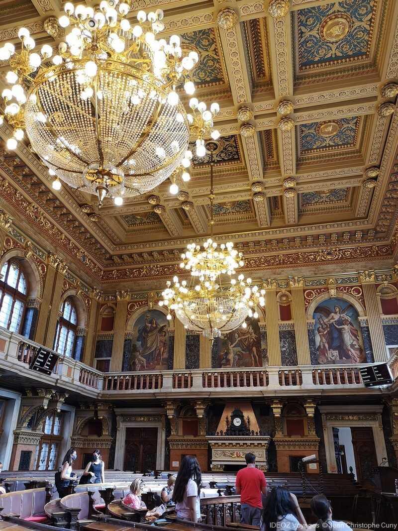 Budapest salle du nouvel hotel de ville