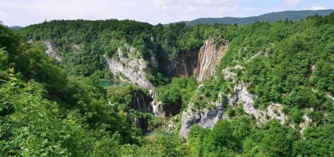 Plitvice panorama
