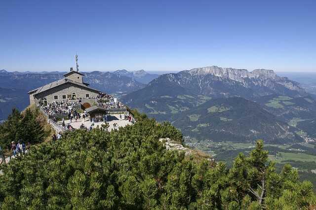 berchtesgaden nid de l'aigle