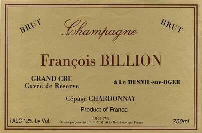 champagne françois billon