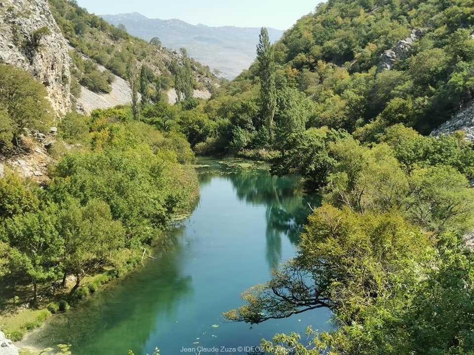 Randonnée dans le canyon de la rivière Krupa ; balade et baignade dépaysante 3