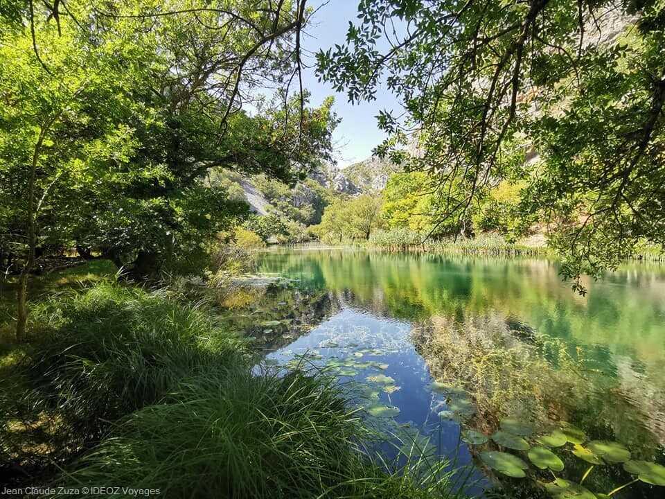 Randonnée dans le canyon de la rivière Krupa ; balade et baignade dépaysante 4