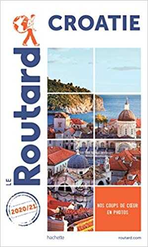 guide routard croatie