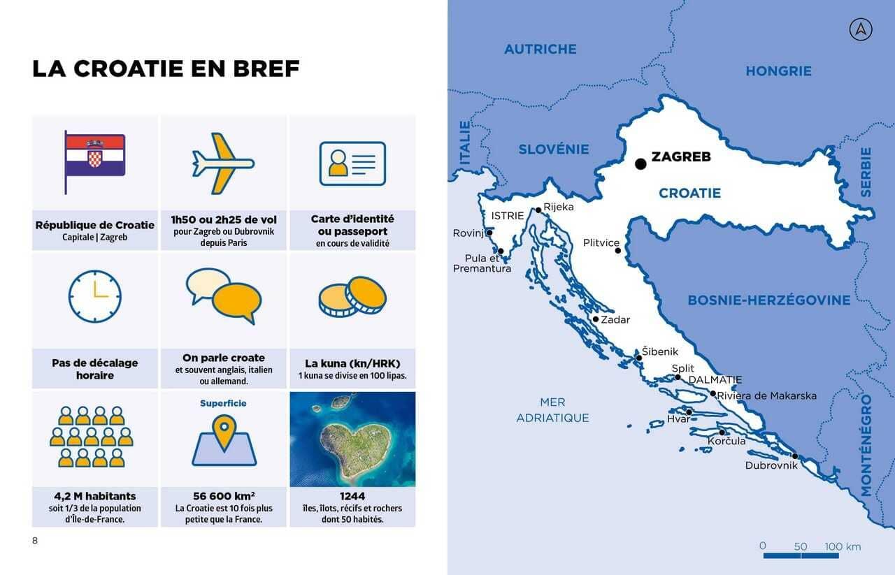 la croatie en bref guide voyage simplissime
