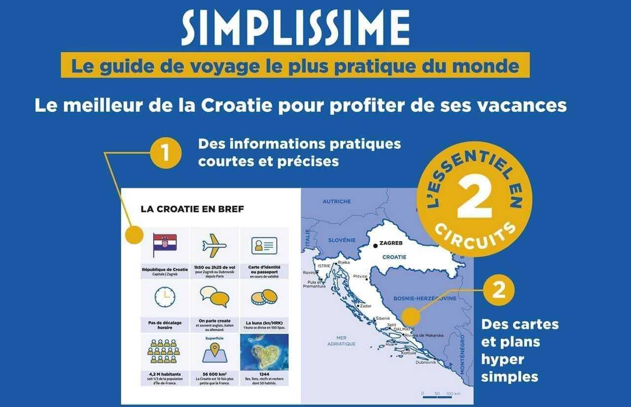 guide voyage simplissime croatie